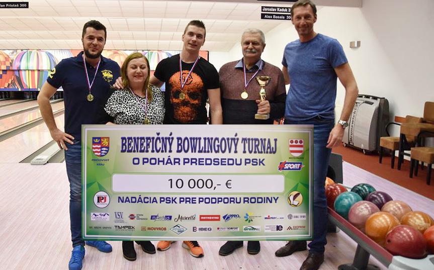 Bowlingový benefečn turnaj 2019